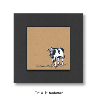 Vaca Tóxica - Obra orixinal - 20x20